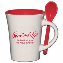 Caring Is The Business We Have Chosen Spooner Mug Gifts