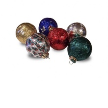 Foil Wrapped Chocolate Tree Ornaments