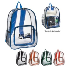 Clear Promotional Backpacks