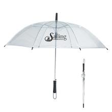 """46"""" Arc Clear Umbrella"""