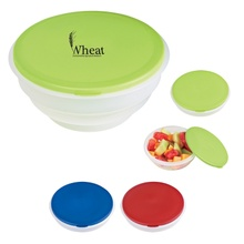 Collapsible Big Lunch Bowl with Custom Printing