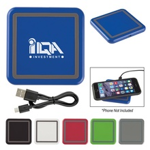 Custom Color Squared Wireless Charging Pad
