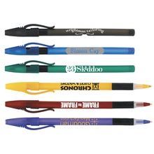 Comfort Stick Frosted Pen with Imprint