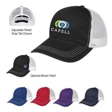 Contrast Stitch Mesh Back Custom Baseball Caps