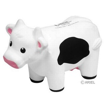Customized Cow Stress Balls