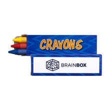 3 Pack of Crayons in Personalized Box