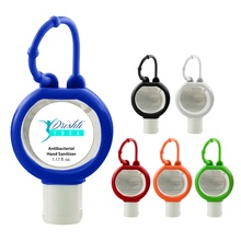 Custom 1.17 oz. Hand Sanitizer with Silicone Sleeve