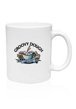 Custom 11 oz. White Ceramic Coffee Mugs