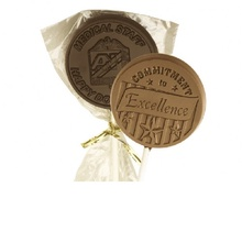 Custom Chocolate Lollipops