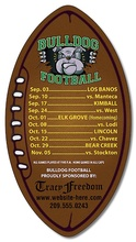 Custom Football Magnets