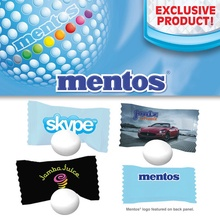 Custom Individual Wrapped Mentos Mints