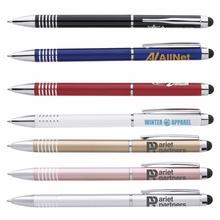 Metal Twist Imprinted Stylus Pens