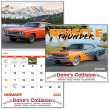 Custom Muscle Thunder Calendar - 2022