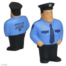 Custom Policeman Stress Balls