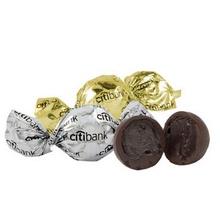 Custom Wrapped Chocolate Truffles