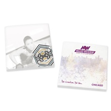 "Customized 3"" x 3"" 100 sheet Adhesive Sticky Notes"