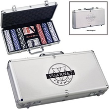 Deluxe Personalized Poker Sets