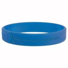 Diabetes Awareness Silicone Bracelet