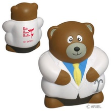 Custom Doctor Bear Stress Balls