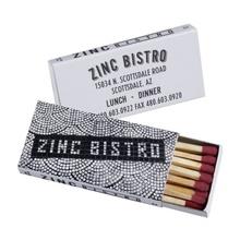 Custom Printed Domino Box of Matches