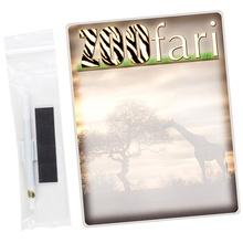 "Dry Erase 8-1/2"" x 11"" Mirage Board with Custom Imprint"
