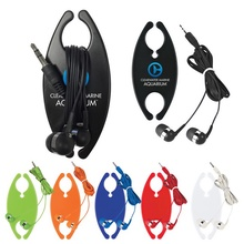 Ear Buds with Personalized Cord Organizer