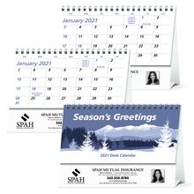 Economy Customized Desk Calendars - 2022