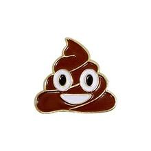Emoji Poop Lapel Pin