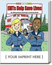 EMT's Help Save Lives Coloring & Activity Book