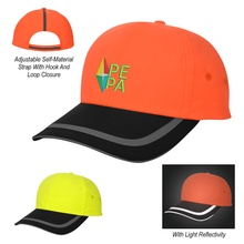 Enhanced Visibility Imprinted Reflective Caps