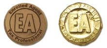 Enrolled Agent Tax Professional Chocolate Coins