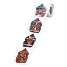 Fire Badge Stickers