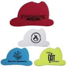 Custom Printed Fire Helmet Erasers