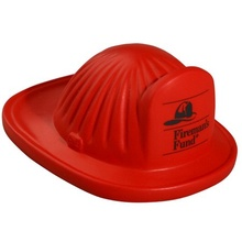 Personalized Fire Helmet Stress Balls