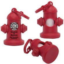 Imprinted Fire Hydrant Waste Bag Dispensers