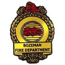 Custom Fire Safety Badges