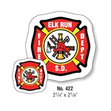 Personalized Fire Safety Magnets