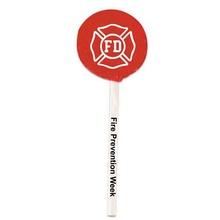 Fire Safety Shield Lollipops