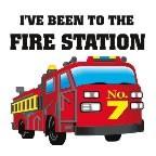 Fire Station Temporary Tattoo