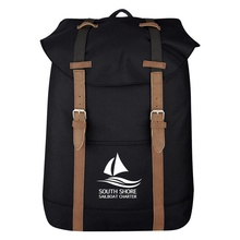 Flap Custom Drawstring Backpacks
