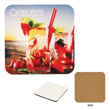 Full Color Printed Square Coasters
