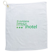 Promotional White Golf Towels