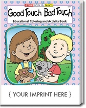Good Touch, Bad Touch Coloring & Activity Book