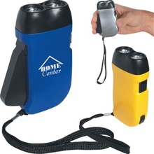 Custom Hand Squeeze Flashlights