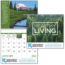 Healthy Living 2022 Promotional Calendars