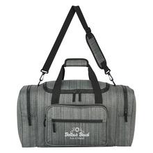 Custom Heathered Duffel Bags
