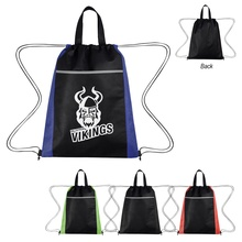 Custom Honeycomb Non-Woven Drawstring Backpacks
