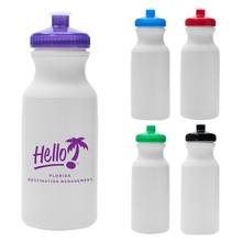 Hydration 20 oz. Logo Water Bottles