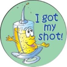 I Got My Shot Stickers