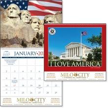 I Love America 2022 Imprinted Calendars